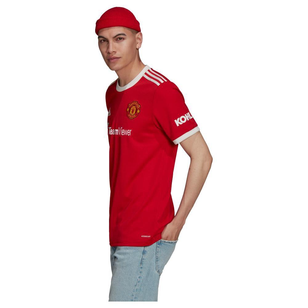 Camiseta De Fútbol Hombre Adidas Manchester United 21/22 image number 1.0