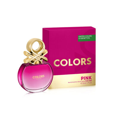 Perfume Benetton Colors Pink Woman Edt / 50 Ml / Edt /