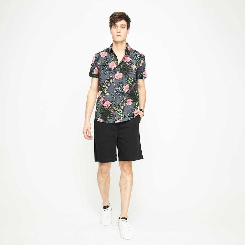 Camisa Manga Corta Hombre Ocean Pacific image number 4.0