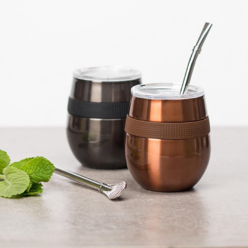 Set Mug Doite Cucao, Copper + Black image number 4.0