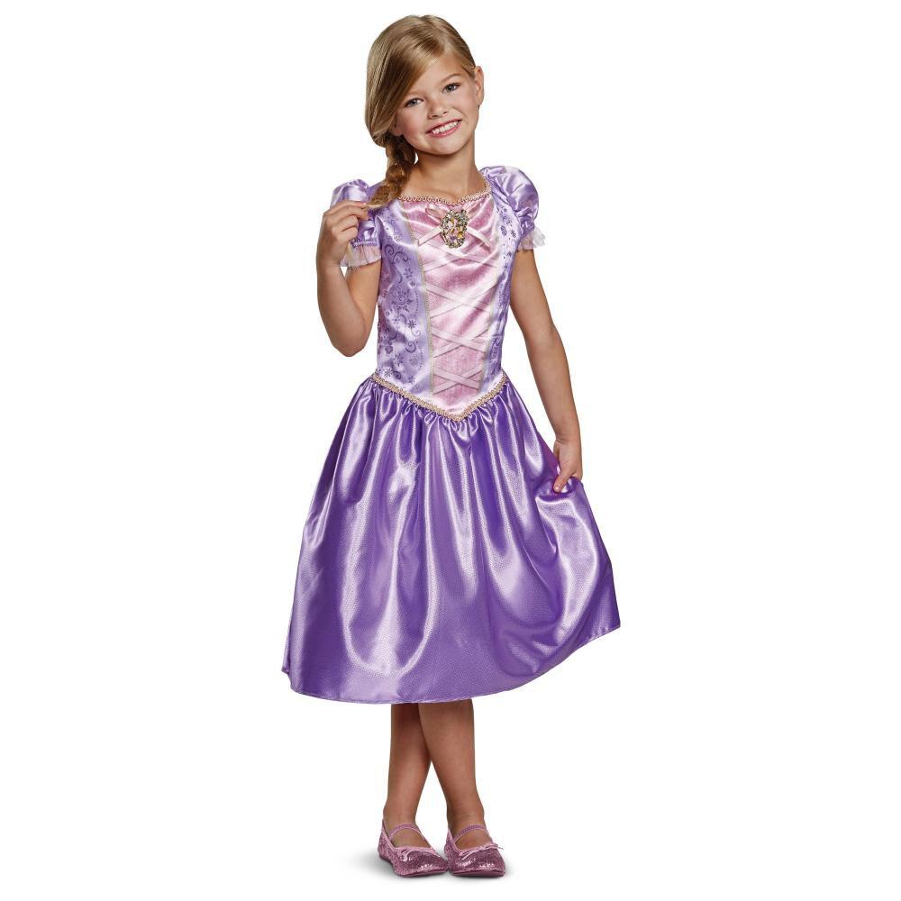 Disfraz Para Niña Princesas Disney Rapunzel image number 0.0