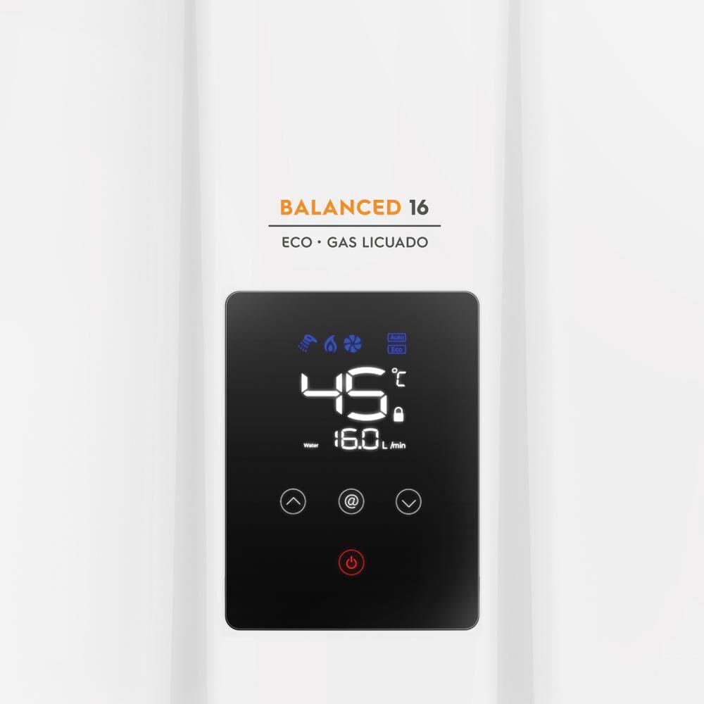 Calefont Mademsa Balanced 16 Eco Gl / 16 Litros / Gas Licuado image number 5.0