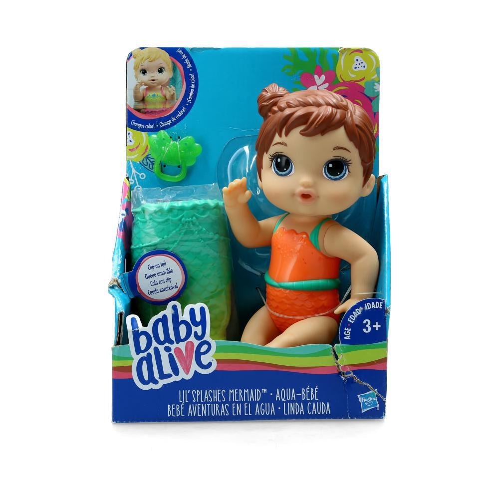 Muñeca Baby Alive Aventuras En El Agua image number 0.0
