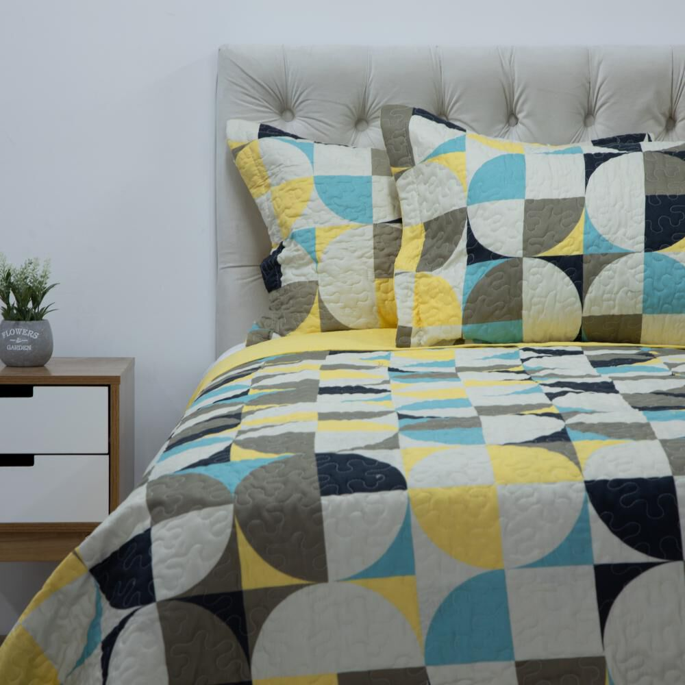 Quilt Azhome Circulo 25p / King image number 0.0