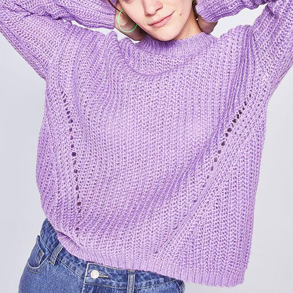 Sweater Trenzado Mujer Freedom image number 0.0