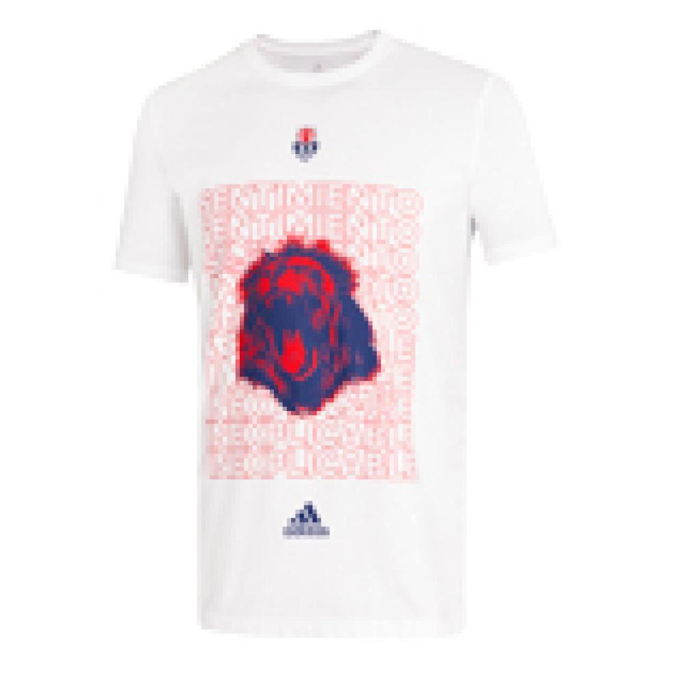 Polera Hombre Adidas-uch Universidad De Chile image number 5.0