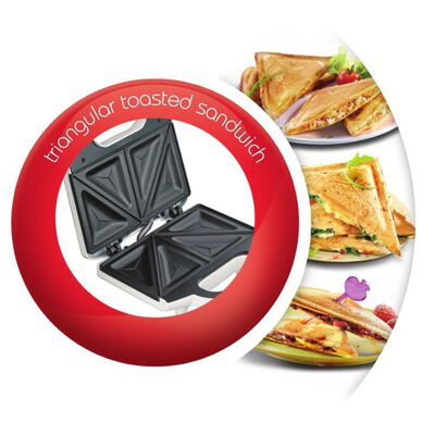 Sandwichera Moulinex Sm154180 / 2 Sándwiches