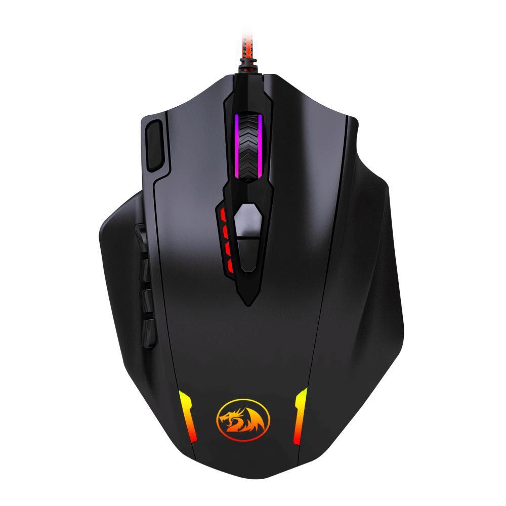 Mouse Gamer Redragon Rgb Impact M908 - image number 0.0