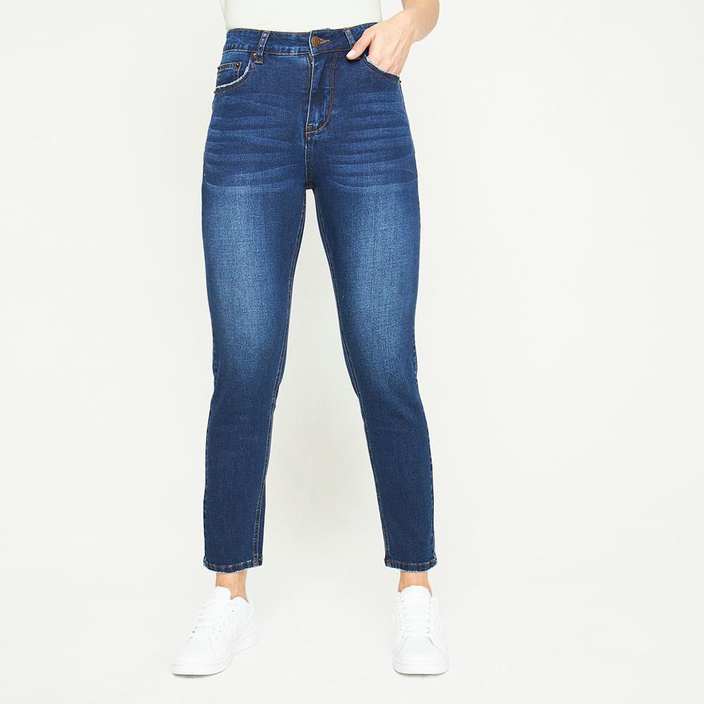 Jeans Lavado Tiro Medio Skinny Mujer Kimera image number 0.0