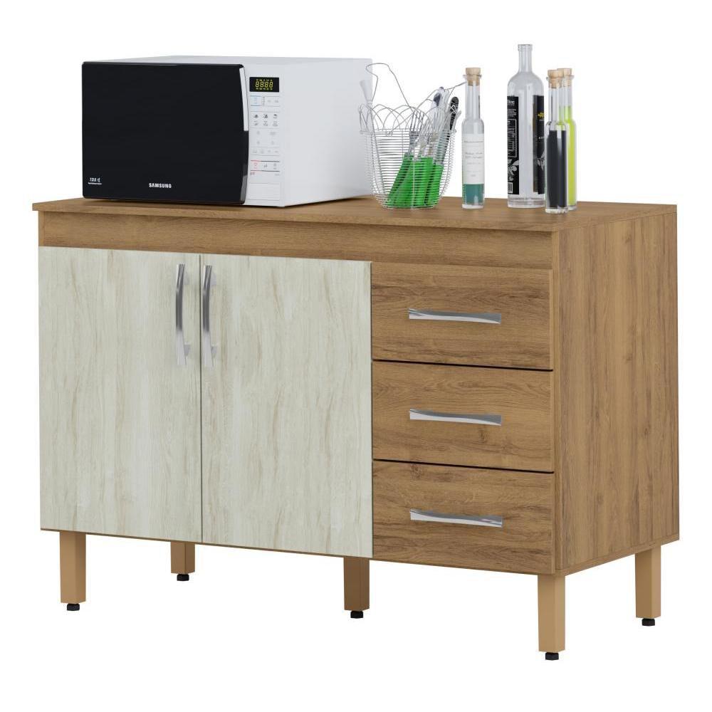 Mueble De Cocina Home Mobili Kalahari/montana / 2 Puertas / 3 Cajones image number 0.0