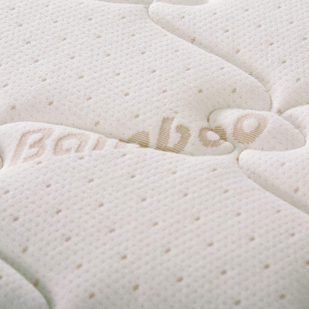 Cama Europea Celta Bamboo / 2 Plazas / Base Dividida  + Textil image number 4.0