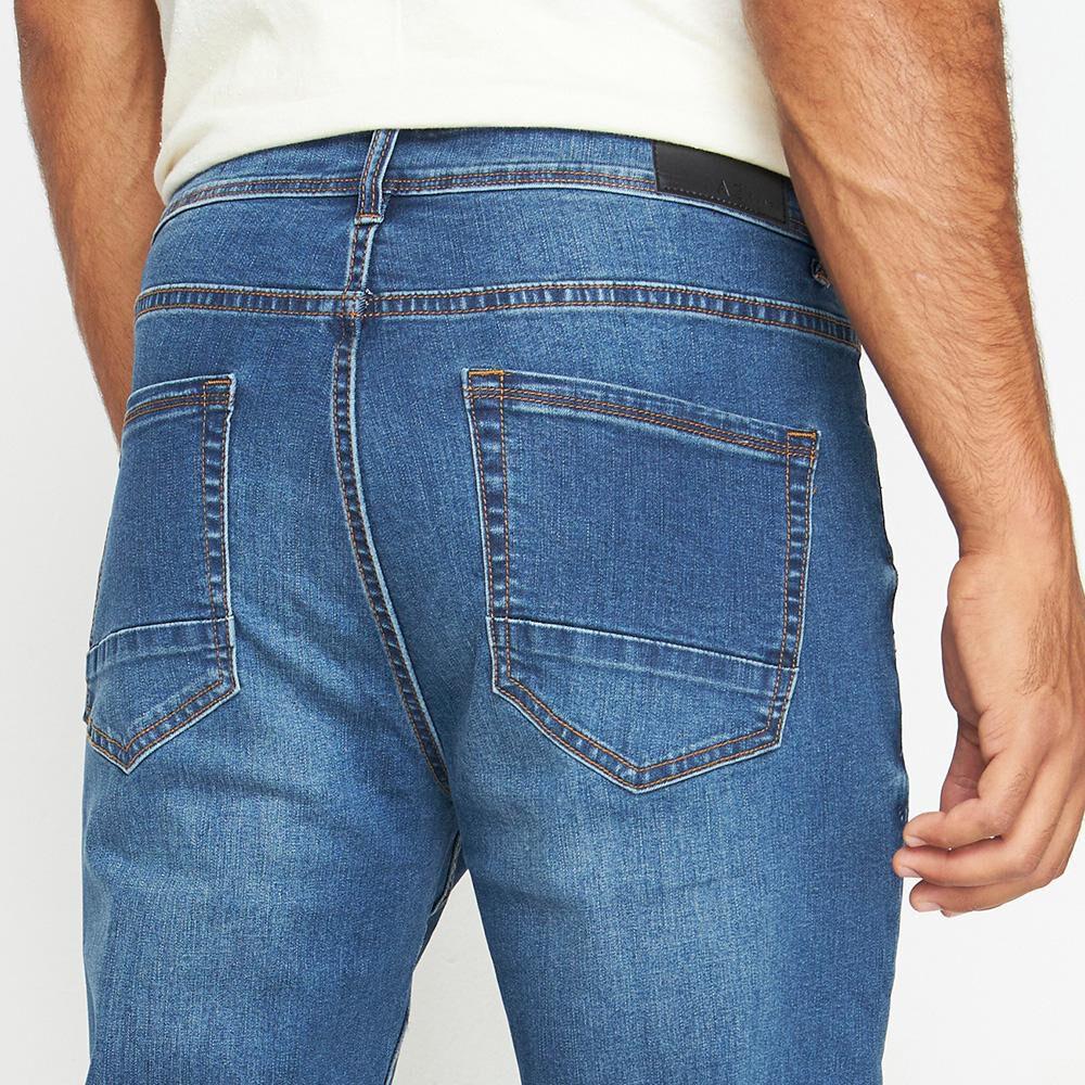 Jeans Hombre Az Black image number 4.0