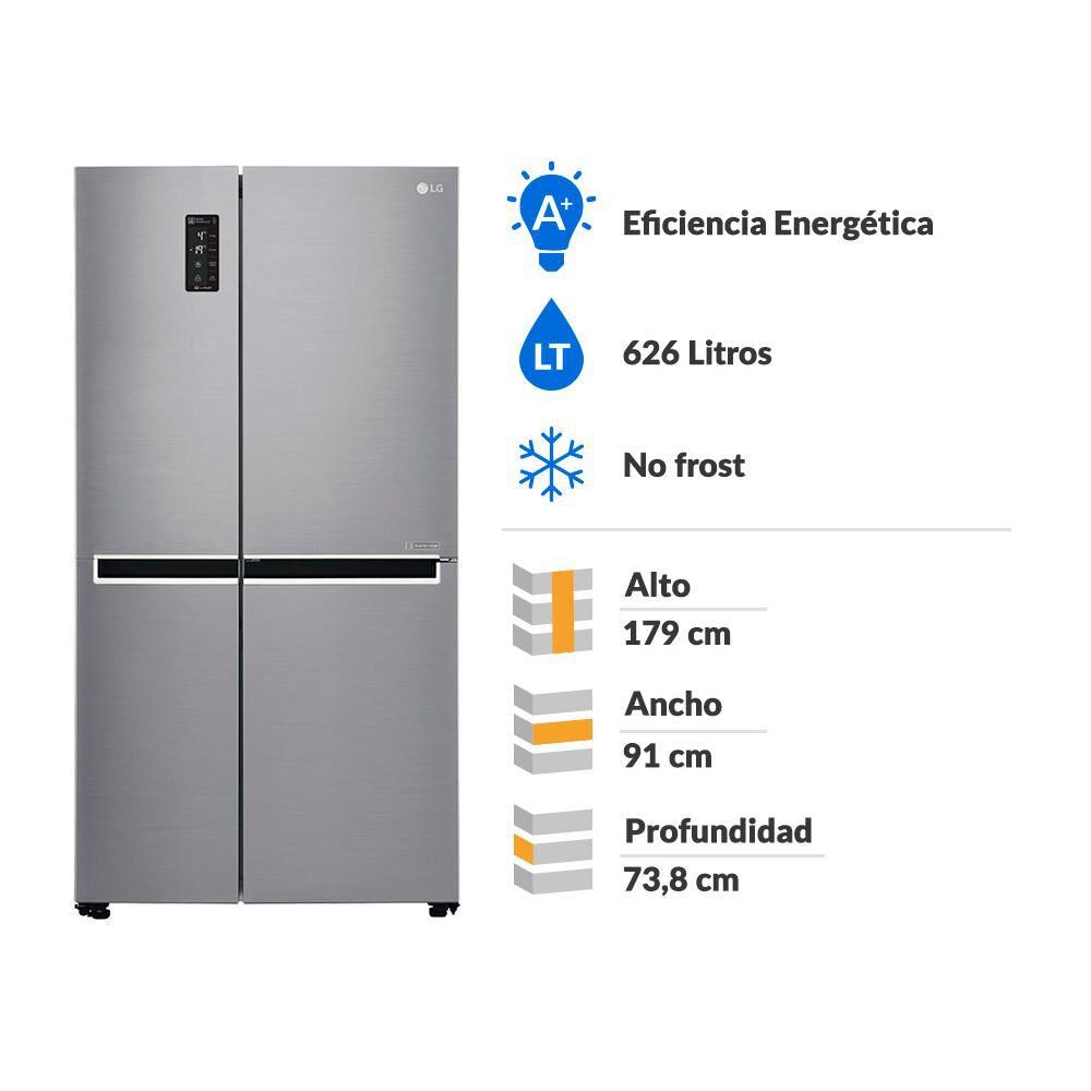 Refrigerador Side By Side Lg GS65MPP1 / No Frost / 626 Litros image number 1.0