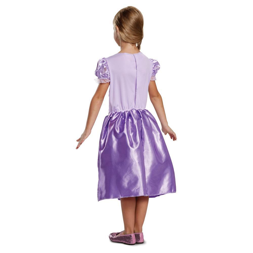 Disfraz Para Niña Princesas Disney Rapunzel image number 1.0