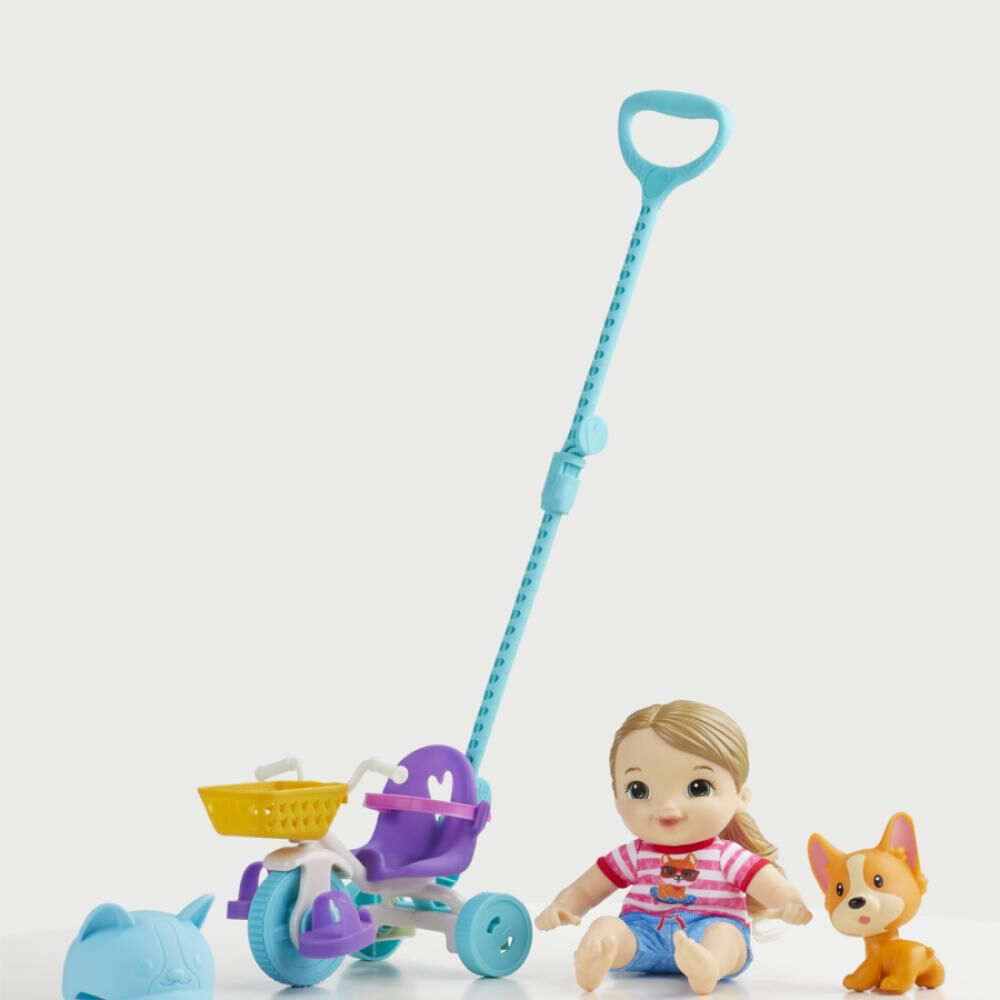 Muñeca Baby Alive Littles Triciclo De Paseo image number 3.0
