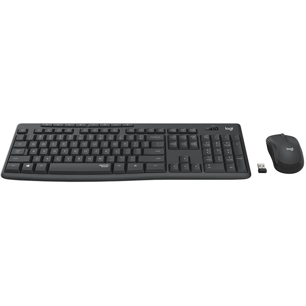 Combo Mouse + Teclado Logitech Mk295 image number 1.0