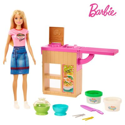 Muñeca Barbie Cocina De Fideos