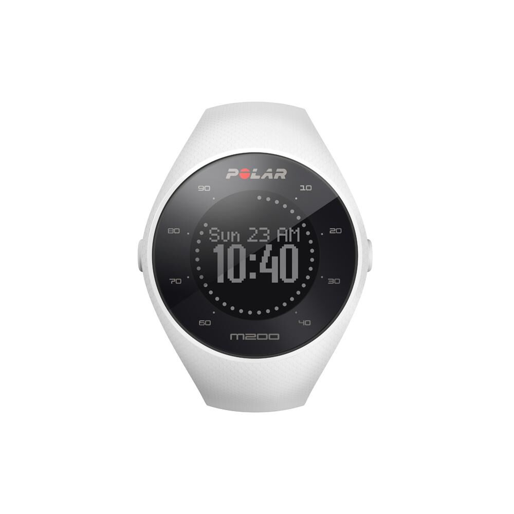 Smartwatch Polar M200  Blanco image number 0.0