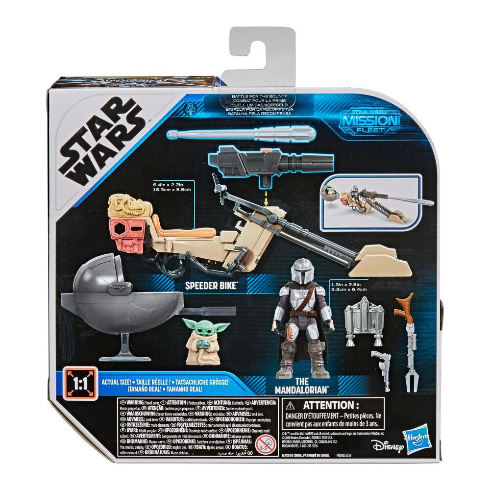 Figura Star Wars Mission Fleet Expedition Class The Mandalorian The Child Battle For The Bounty image number 6.0