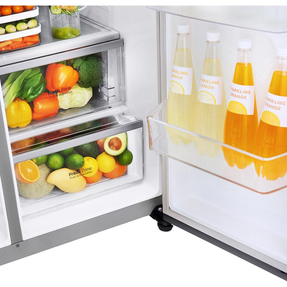 Refrigerador Side by Side LG LS64SXP / No Frost / 592 Litros image number 7.0