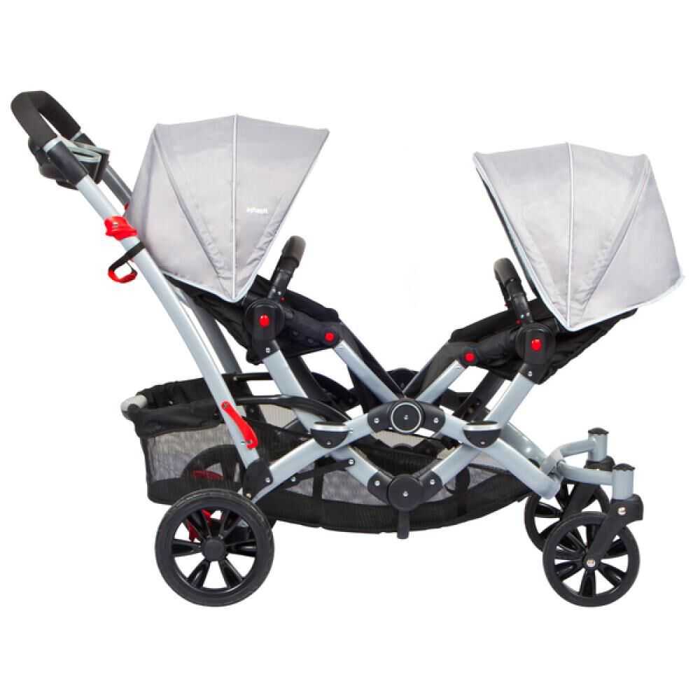 Coches Duo Ride Gery + 2 Sillas Y 2 Bases Infanti image number 2.0