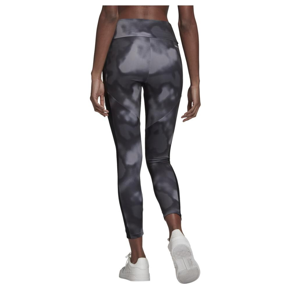 Calza Mujer Adidas Designed To Move Aop 7/8 Tight image number 5.0