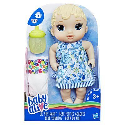 Muñeca Baby Alive Bebé Sorbitos Rubia