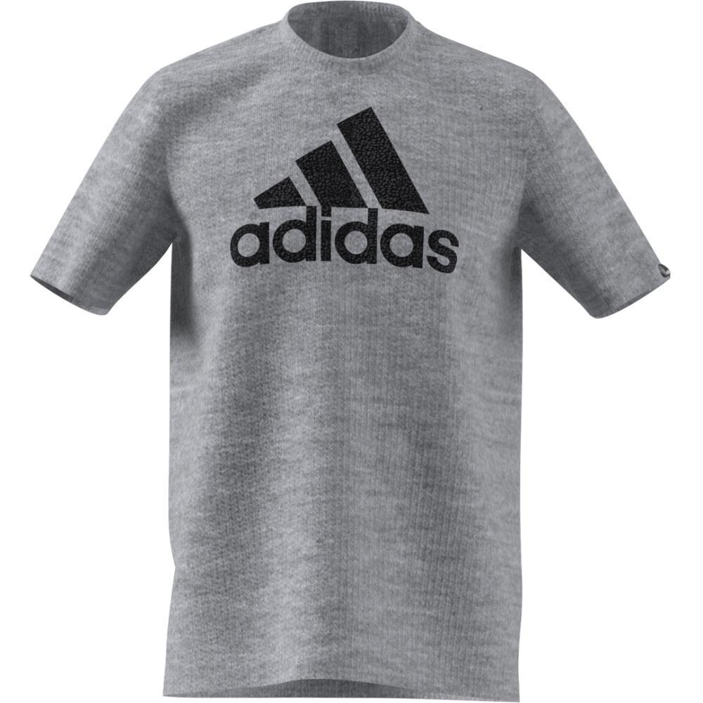 Camiseta Con Logo Texturizado Unisex Adidas image number 7.0