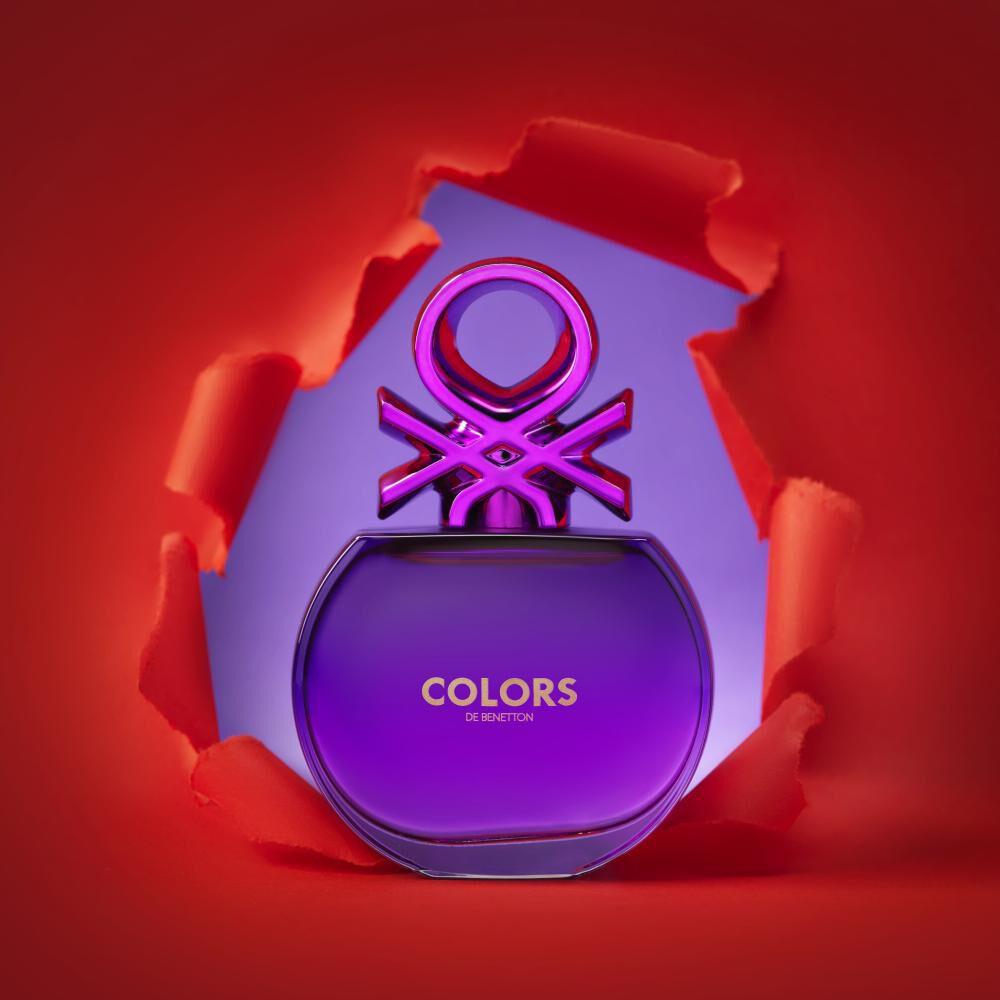 Perfume Colors Purple Woman Benetton / 80 Ml / Edt image number 3.0