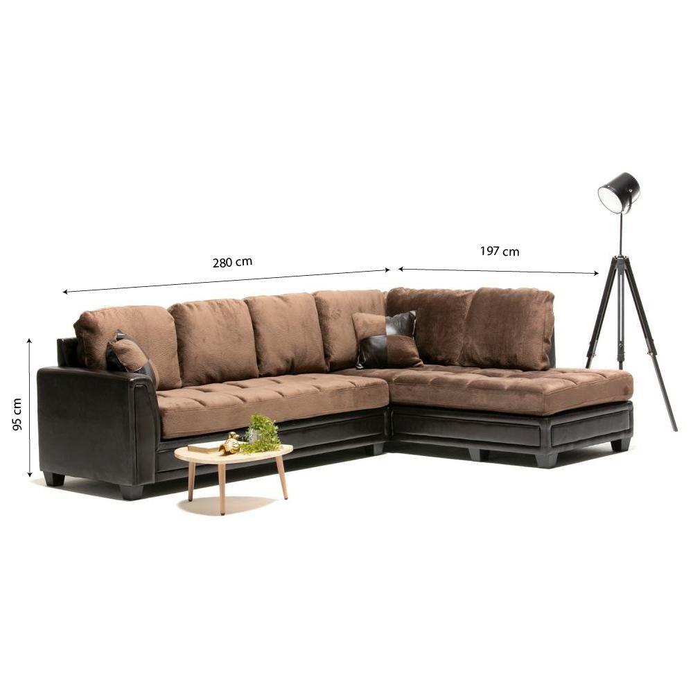 Sofa Seccional Casaideal New Dark / 4 Cuerpos image number 4.0