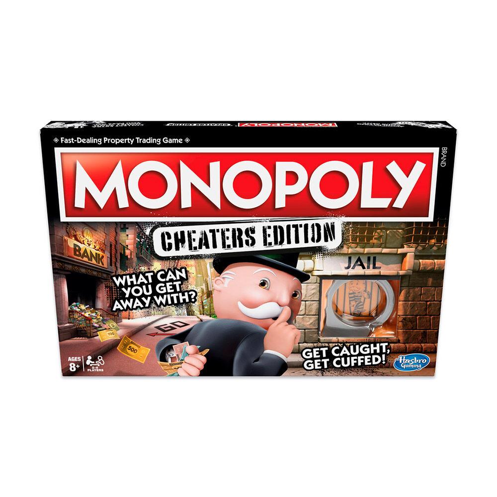Juego De Mesa Monopoly Tramposos image number 0.0