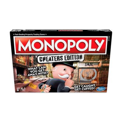 Juego De Mesa Monopoly Tramposos