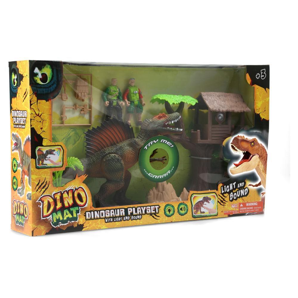 Set De Juguetes Dino Mat Playset image number 1.0