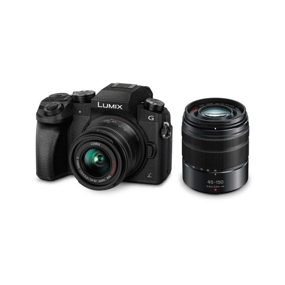 Cámara Fotográfica Panasonic Lumix Mr Dmc-G7Wpp-K image number 0.0