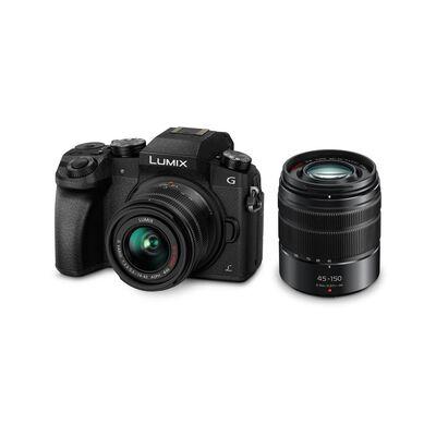 Cámara Fotográfica Panasonic Lumix Mr Dmc-G7Wpp-K