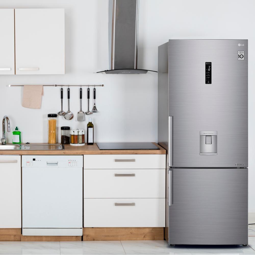 Refrigerador Bottom Freezer LG LB45SGP / No Frost / 442 Litros image number 6.0