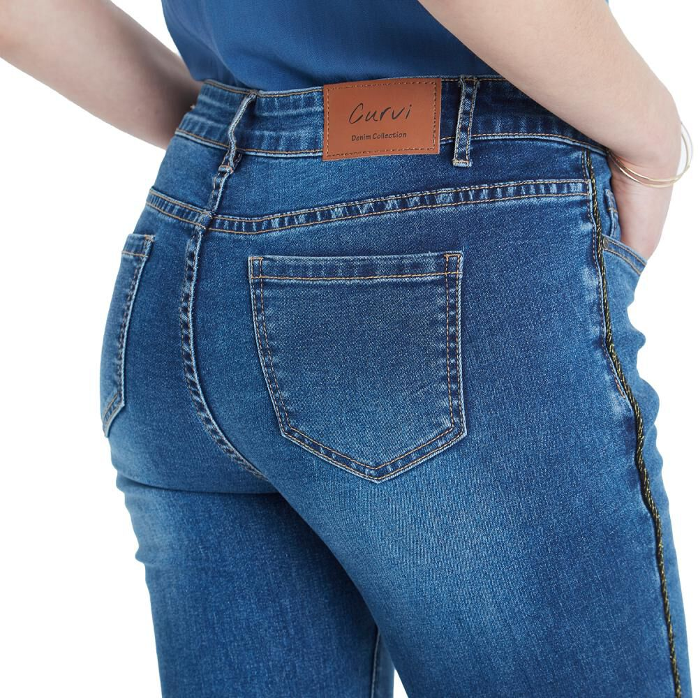 Jeans Mujer Curvi image number 3.0