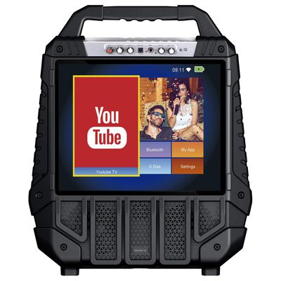 Parlante Para Karaoke Master G Megaparty 15