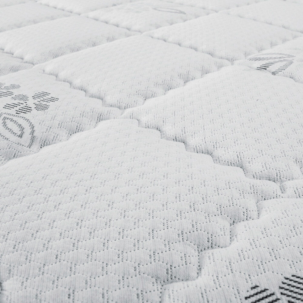 Cama Europea Celta Supreme / 2 Plazas / Base Dividida  + Set De Maderas + Textil image number 3.0