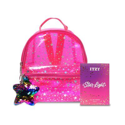 Perfume Mujer Itzy / 100 Ml / Eau De Toilette + Mochila Rosa