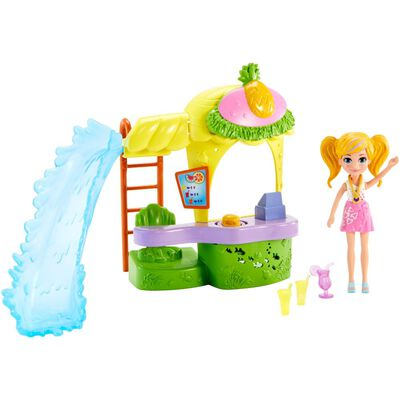 Polly Pocket Kiosko Parque De Piña