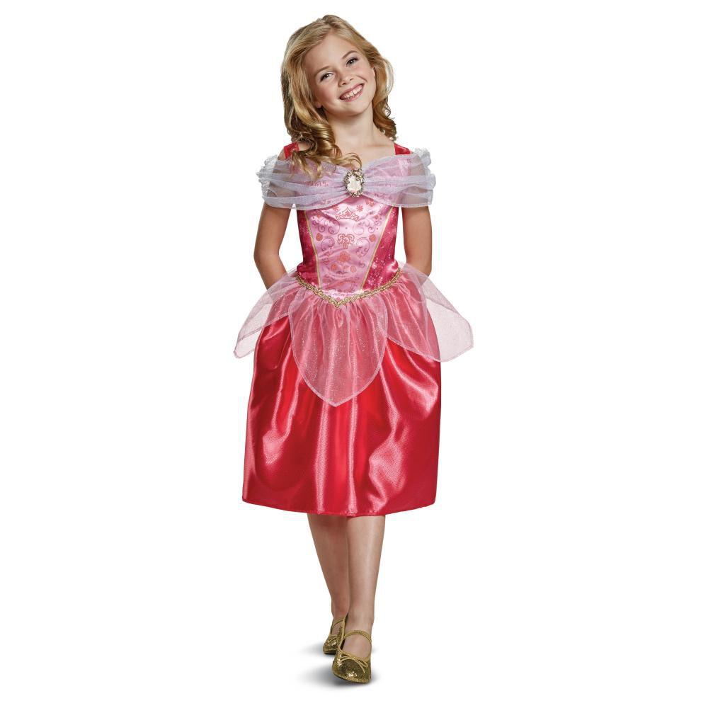 Disfraz Para Niña Princesas Disney Aurora Básico image number 0.0