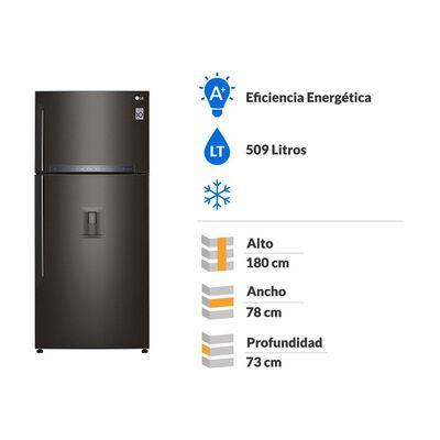 Refrigerador Top Freezer LG LT51SGD No Frost / 509 Litros