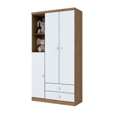 Closet Home Mobili Adober  / 3 Puertas    / 2 Cajones