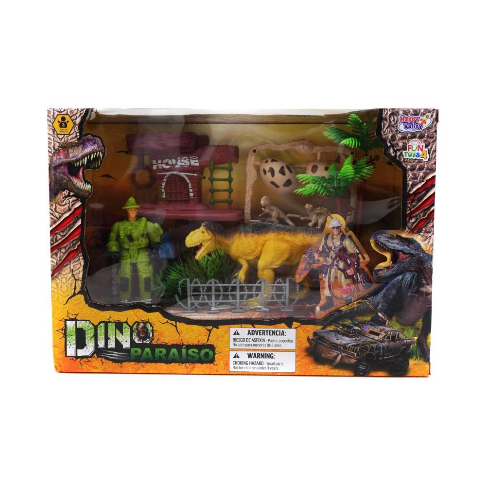 Dino Set House Hitoys image number 0.0