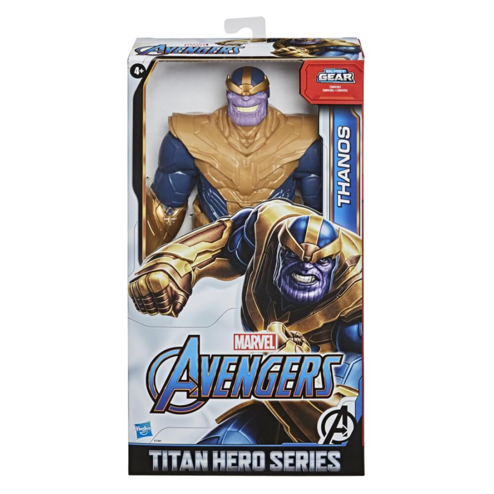 Figura De Accion Avenger Titan Hero Movie Thanos image number 1.0