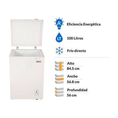 Freezer Libero Lfh-100 Triple Función / Frío Directo / 100 Litros