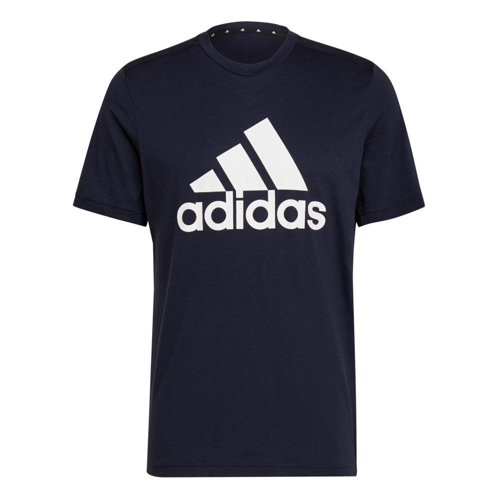 Polera Hombre Adidas D2m Feelready Logo image number 5.0