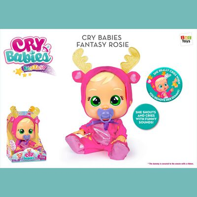 Muñeca Cry Babies Rosi