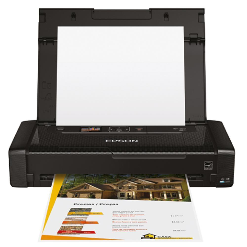 Impresora Epson Wf-100 / Negro image number 0.0